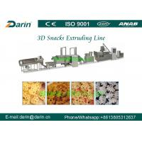 Wholesale Auto 3D Snack Extruder Machine , Fried Food Processing Equipment from china suppliers