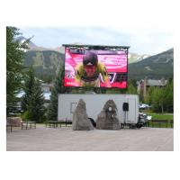 Wholesale Full Color Outdoor LED Billboard 6mm For Airport Flight Information Display / Public Square from china suppliers