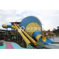Wholesale Tornado fiberglass water pool slides for adult , swimming pool slides from china suppliers