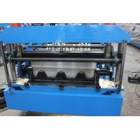 Wholesale Automatic Metal Deck Roll Forming Machine , Galvanized Floor Decking Roll Forming Machine from china suppliers