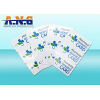 Wholesale 3 Up PVC Combo Vip Business Cards With Barcode For Membership Management from china suppliers
