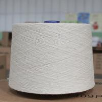 Wholesale Raw White Hemp Organic Cotton Blend Spun Yarn 21Ne  for Textiles /  Leathers from china suppliers