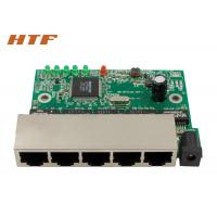 Wholesale 10/100Mbps 5 Port Ethernet Switch Board , Fast Network Switch Module from china suppliers