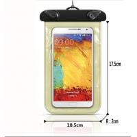 Wholesale waterproof soft shell pvc colorful bag. phone cover from china suppliers