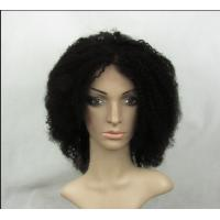 Wholesale Curly Wave 10 Inch Full Lace Human Hair Wigs With Baby Hair from china suppliers