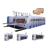 Wholesale Automatic Feeding Corrugated Carton Box Making Machine / Flexo Printing Machine from china suppliers