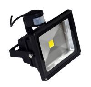 Quality Motion Sensor PIR 30W Led Flood Lights Super Bright Cool White for Park, Outdoor Landscape Light for sale