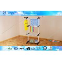 Wholesale Towel / Clothes Indoor Laundry Drying Rack , Home Decorative Three Tier Cothes Drying Rack from china suppliers