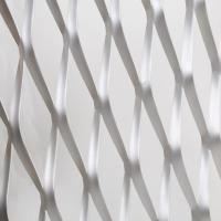 Buy cheap stretching expanded metal sheets / diamond hole expanded steel panels from wholesalers