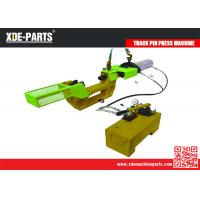 Wholesale Hydraulic Track Link Press Machine, Excavator Track Pin Removal Installation Tool, Master Pin Pusher Installer from china suppliers