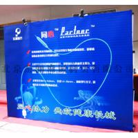 Wholesale Retractable spring pop up banner stands for promotional display or exhibition from china suppliers