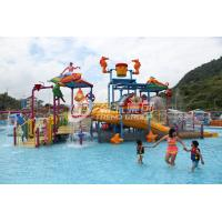 Wholesale Fiberglass Kids' Water Playground inside water parks with water pump / Customized Water Slide from china suppliers