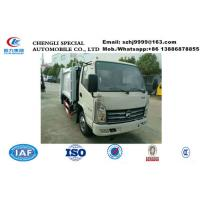 Wholesale China-made cheapest KAMA mini 3m3 garbage compactor truck for sale, HOT SALE!3m3 Smallest comapcted garbage truck from china suppliers