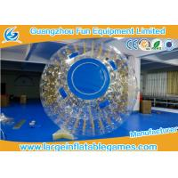 Wholesale One Entrance Inflatable Zorb Ball 0.7mm TPU With Zipper , Digital Printing from china suppliers