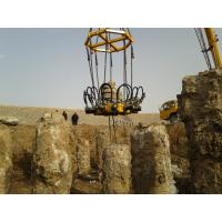 Wholesale KP315A Hydraulic Pile Breaker Round Concrete Column , Pile Diameter 300mm - 1050mm from china suppliers