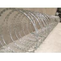Wholesale Hot dipped galvanized razor wire mesh with 980mm outer diameter from china suppliers