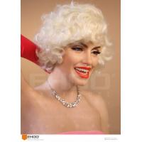 Wholesale Classic Hollywood Actress Sex Lady Marilyn Monroe Wax Figure Realistic Wax Sculptures from china suppliers
