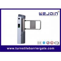 Wholesale Automatic Access Control Single Pole Automatic Swing Barrier , Pedestrian Access Control Gates from china suppliers