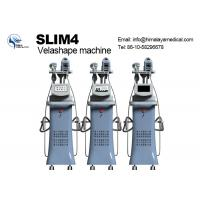 """Wholesale 8.4""""  Velashape Vacuum Slimming Machine for Body Shaping with Vacuum RF Roller Massage with four handpiece from china suppliers"""