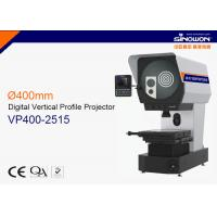 Wholesale 250*150mm Ø400mm Vertical Digital Profile Projector with LED illumination ( 3.2V / 10W ) from china suppliers