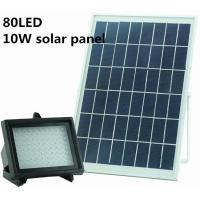 Quality Solar powered 80LEDs Solar Panel for Lawn Garden Outdoor Security Spotlight waterproof Solar Street Light for sale