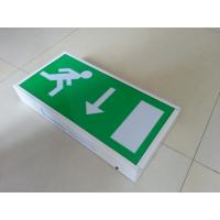 Wholesale CE Permanent Industrial Led Exit Signs , Rechargeable Emergency Evacuation Exit Sign from china suppliers