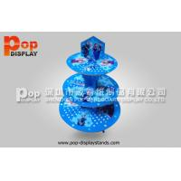 Wholesale Promotional Blue Cupcake Display Stands / Beverage Display Racks from china suppliers
