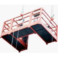 Wholesale U type Steel Suspended Platform Cradle, Suspended Scaffolds for Chimney Maintain ZLP630 from china suppliers