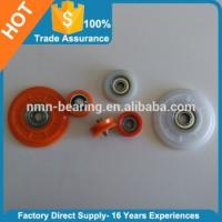 Quality Window and Door Accessories Carbon Steel Bearing Plastic Roller for sale