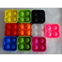Wholesale food grade silicone ice spheres mold , flexible silicone ice ball molds from china suppliers
