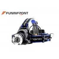 Wholesale CREE XM-L2 1200LMs Powerful Water Resistant Outdoor LED Headlamp from china suppliers
