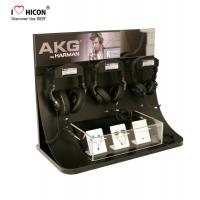 Wholesale Custom Logo Accessories Display Stand Acrylic Headphone Earbud Display Stand Countertop from china suppliers