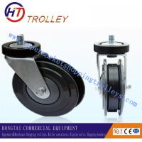 """Wholesale Fixed Elevator Castor Shopping Trolley Spare Parts 5"""" Double Sides from china suppliers"""