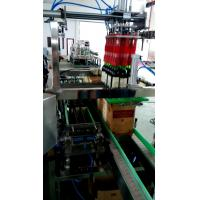 Wholesale Professional Single Column Beer / Water Bottle Packaging Machine 15 Case / Hour from china suppliers
