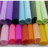 Wholesale Manual Cut Type Double Sided Crepe Paper Sheets 50cm * 250cm Size from china suppliers