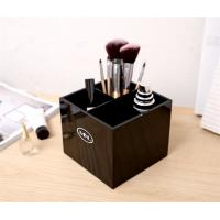 Wholesale Acrylic lipstick Holder Cosmetic Makeup Brush Organizer Display Stand Case from china suppliers