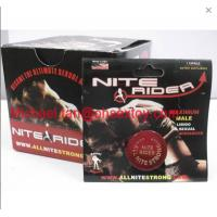 Wholesale Red Color Nite Rider Nighter rider Maximum Male Libido Sexual Enhancer Pills For Men from china suppliers