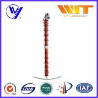 Wholesale 180KV - 240KV Zinc Oxide Line Surge Arrester KEMA with Smooth Volt - Second Curve from china suppliers