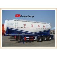 Wholesale Bulk Grain Trailer 3 Axle Cement Transport Dry Bulk Trailer , Dry Bulk Pneumatic Trailers from china suppliers