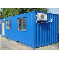 Wholesale OEM Portable Camp Modular Temporary Housing With Air Conditioner from china suppliers