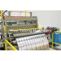 Quality Metal Slitting Machine Cut To Length Line For Hot / Cold Rolled Steel Cutting for sale