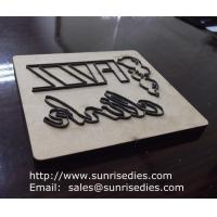 Wholesale MDF base scrapbooking steel rule dies, MDF steel cutting die making China factory from china suppliers