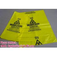 Wholesale Biohazard Bin Liners, Biohazard Waste Bags, Biohazard Garbage, Waste Disposal Bag from china suppliers