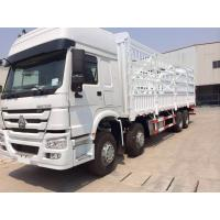 Wholesale Warehouse Type Cargo Stake Truck SINOTRUK HOWO 8X4 LHD Euro2 371HP General Cargo Trucks from china suppliers