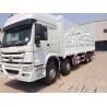 Buy cheap Warehouse Type Cargo Stake Truck SINOTRUK HOWO 8X4 LHD Euro2 371HP General Cargo Trucks from wholesalers