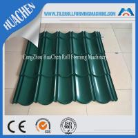Wholesale Roof Tile Sheet Metal Roll Forming Machines , Roll Form Equipment Touch Screen from china suppliers