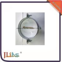 Wholesale Customised Galvanised Steel Hanging Pipe Clamps Riveted Nut M7 / M8 from china suppliers