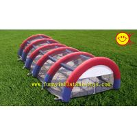 Clear Tarpaulin Huge Inflatable Sport Archway / Bow Party Tent For Outdoor Events
