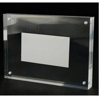 Wholesale Manufacturing acrylic frame acrylic magnetic photo frame acrylic photo frame from china suppliers