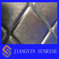 Wholesale Comfortable PU PVC Synthetic Leather Upholstery Fabric With Waterproof Film from china suppliers